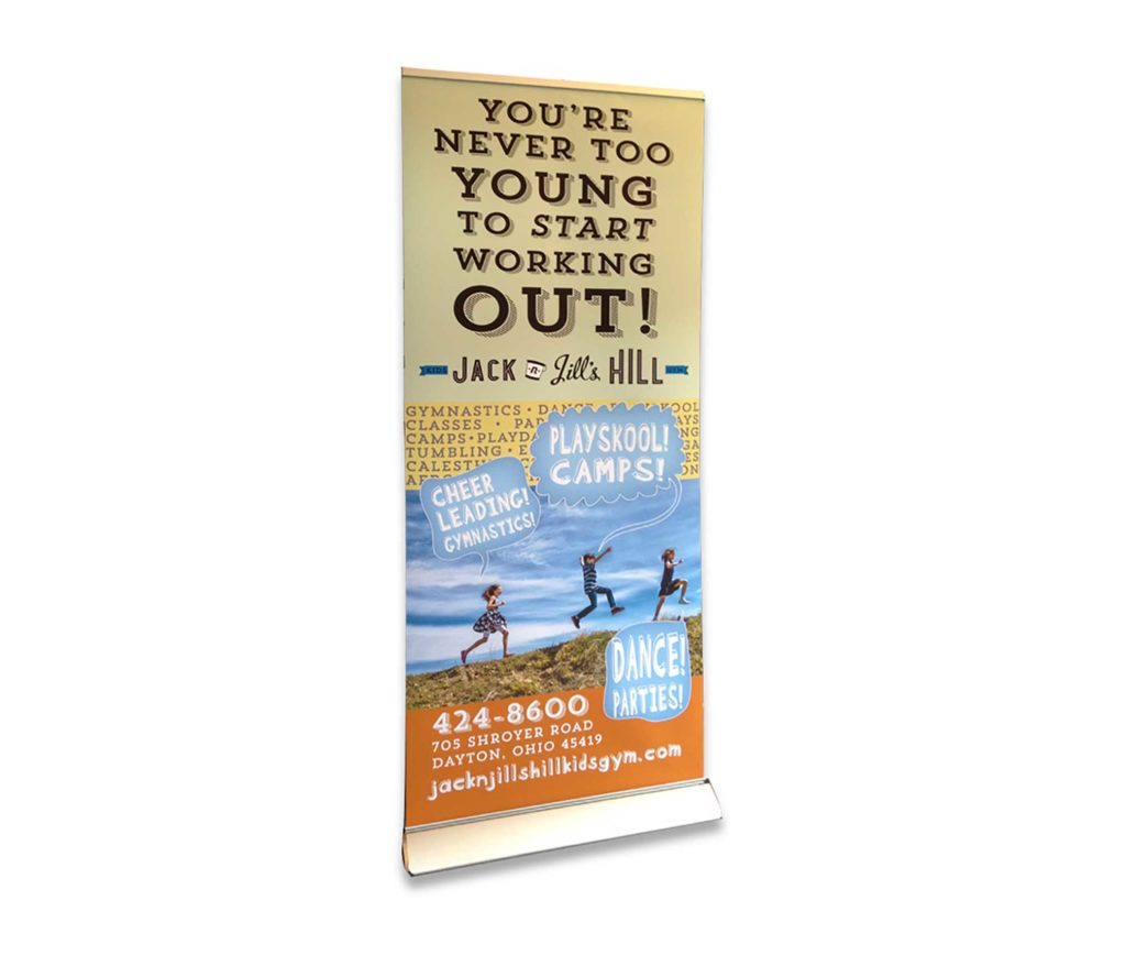 The Next Wave Printing Dayton - Deluxe Banner Stand