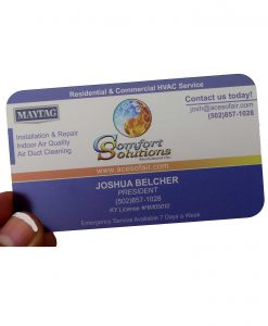 The Next Wave Printing Dayton, Ohio - Plastic Business Cards