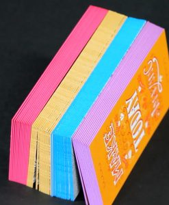 The Next Wave Printing Dayton, Ohio - Painted Edge Business Cards