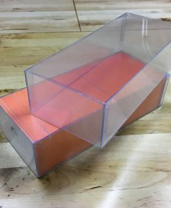 The Next Wave Printing Dayton, Ohio - Painted Edge Business Cards in a Clear Plastic Case