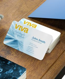 The Next Wave Printing Dayton, Ohio - Rounded Corner Business Cards