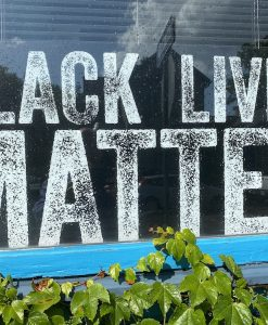 Black Lives Matter 36x18 sign